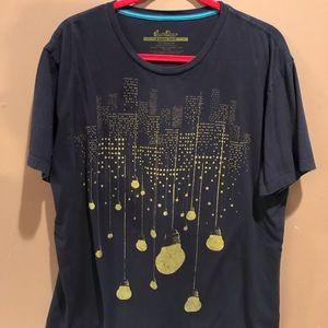 Threadless Lightbulb T-shirt